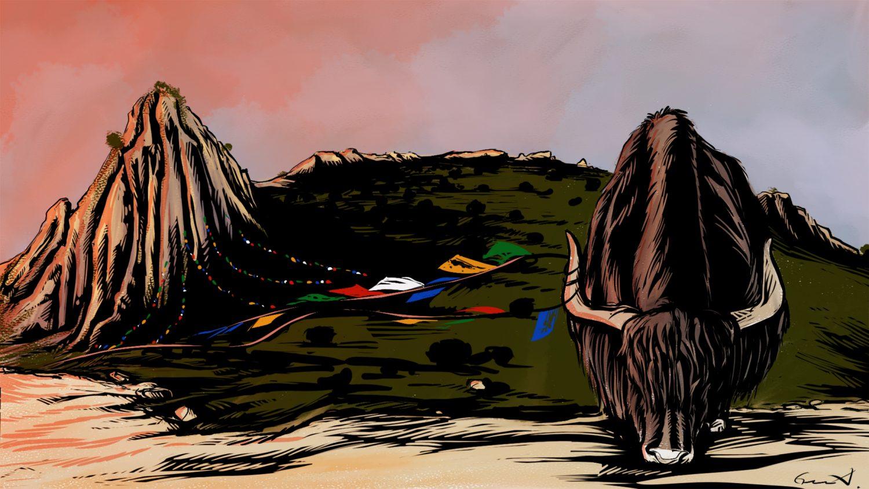Curse of Geography: Qinghai-Tibet Plateau