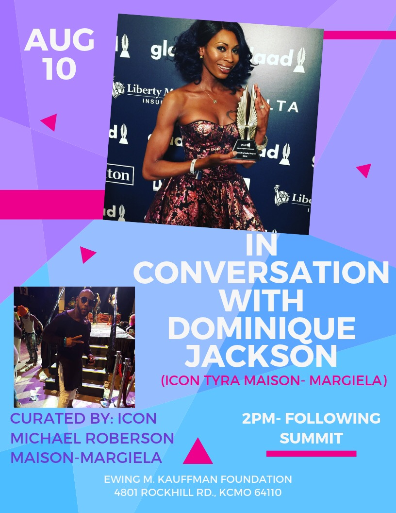 Dominique Jackson of Pose interviewed by Michael Roberson