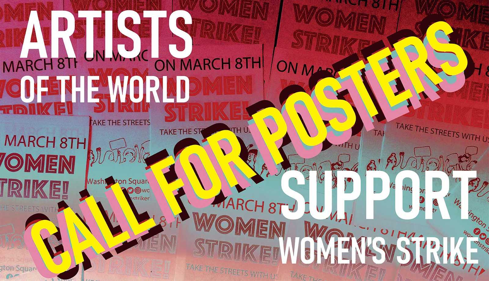 Call for posters! NYC Women's Strike 2020!
