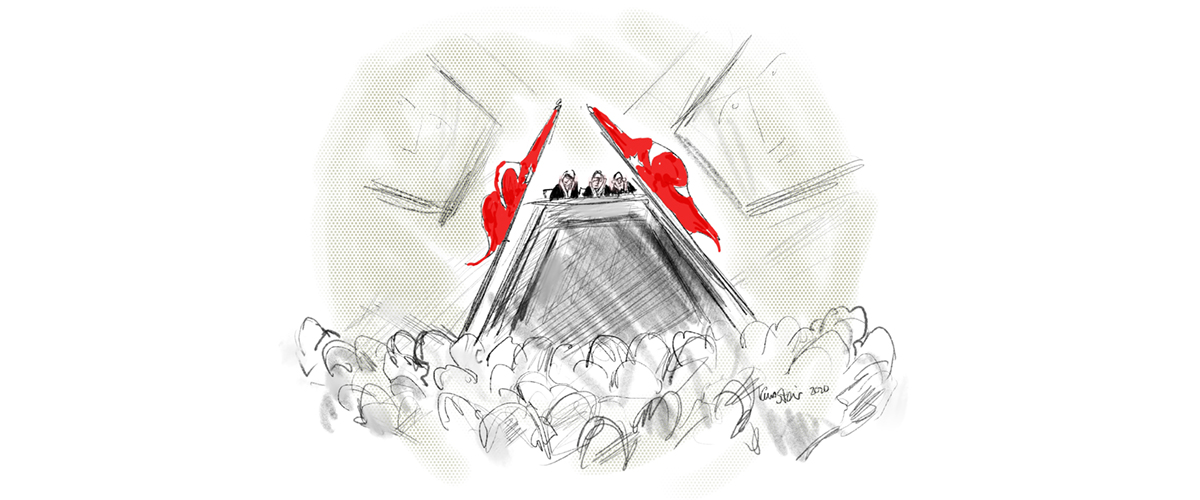Biz. Alive at the Gezi Park trial.