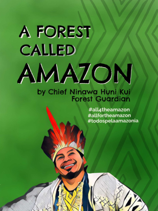 """Cover of the booklet """"A Forest Called Amazon"""""""