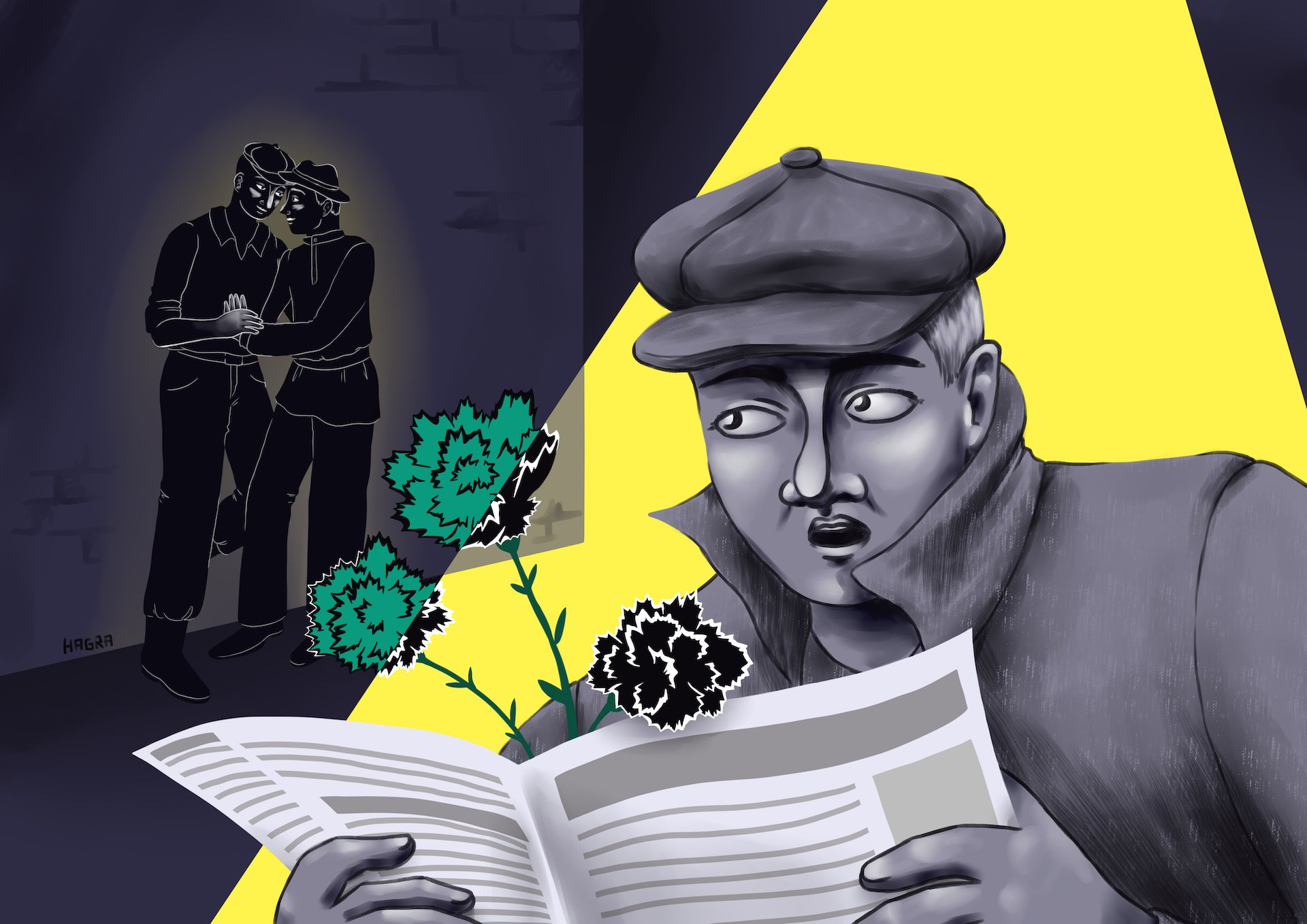 Black Carnation: Male Homosexuality in Interwar Latvia